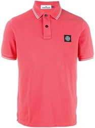 Stone Island Classic Polo Red