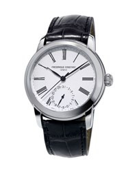 Frederique Constant 42Mm Classics Manufacture Watch W Black Alligator Strap