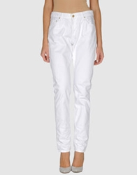 Carhartt Denim Pants White