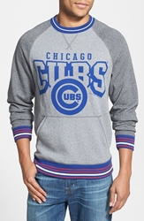Mitchell And Ness 'Broad Street Chicago Cubs' Crewneck Sweatshirt Grey