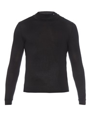 Raf Simons Roll Neck Jersey Sweater