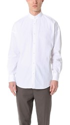 Zanerobe Band Rugger Shirt White