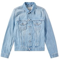 Acne Studios Who Denim Jacket Blue