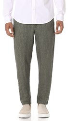Club Monaco Beach Pants Olive