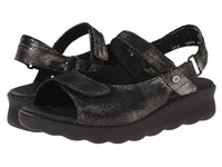 Wolky Pichu Black Women's Sandals