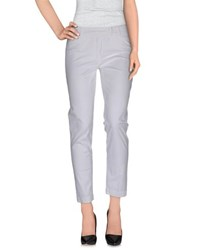 Jeans Les Copains Trousers Casual Trousers Women White