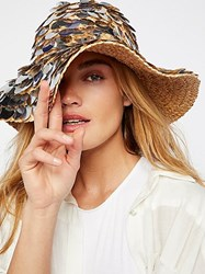 Free People St. Lucia Paillette Hat By