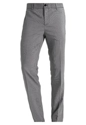 Pier One Trousers Black White