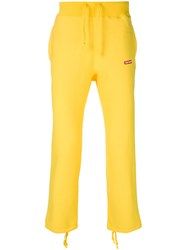 Wacko Maria Loose Fit Trousers Yellow And Orange