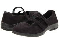 Propet Bilite Walker Black Velour Women's Maryjane Shoes