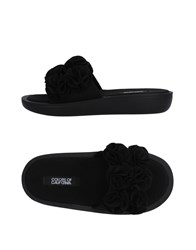 Colors Of California Sandals Black