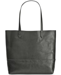 Giani Bernini Large Leather Commuter Tote Only At Macy's Black
