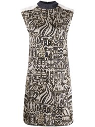 Missoni Metallic Knit Dress Black