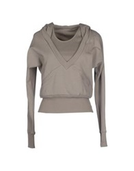 Patrizia Pepe Sweatshirts Military Green