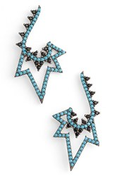 Azaara Women's Spike Drop Earrings