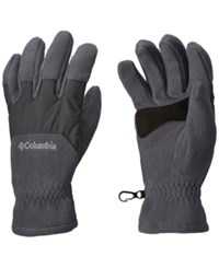 Columbia Men's Thermal Coil Fleece Gloves Graphite