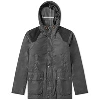 Barbour Louth Wax Jacket Black