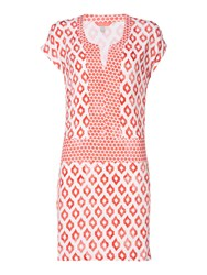 Joules Shift Dress Coral