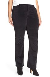 Plus Size Women's Nydj 'Billie' Stretch Mini Bootcut Corduroy Pants