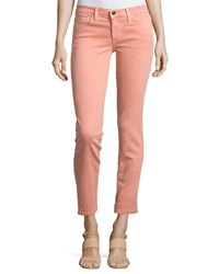 Joe's Jeans Straight Leg Twill Ankle Pants Tigerlily
