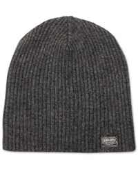 Denim And Supply Ralph Lauren Men's Ribbed Beanie Gray