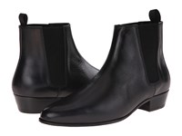 The Kooples Smooth Leather Chelsea Boot Black Men's Boots