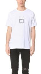 Rag And Bone Tv Embroidery Tee White