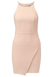 New Look Shift Dress Shell Pink Rose Gold