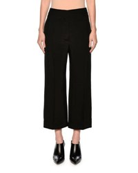 Marni Cropped Wide Leg Pants Black