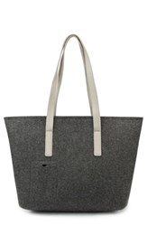 Men's Mad Rabbit Kicking Tiger 'Florida' Industrial Felt Tote
