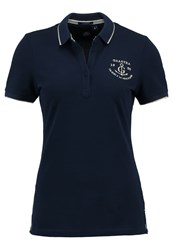 Gaastra Aime Polo Shirt True Navy Dark Blue