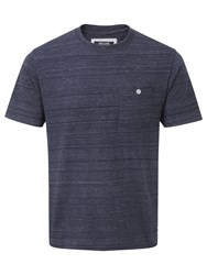 Tog 24 Lynch Mens Tcz Cotton Deluxe T Shirt Midnight Marl