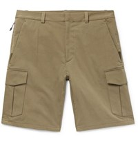 Rag And Bone Jay Cotton Blend Cargo Shorts Army Green