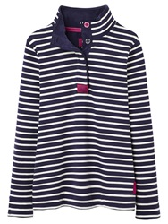 Joules Cowdray Stripe Sweater Navy
