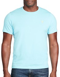 Polo Big And Tall Cotton Jersey Crewneck Tee French Turquoise
