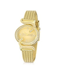 Just Cavalli Sin Jc Stainless Golden Steel Women's Watch