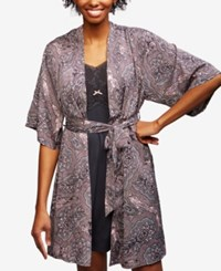 A Pea In The Pod Nursing Nightgown And Robe Paisley