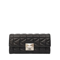 Karl Lagerfeld Kuilted Flap Wallet