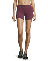 Alo Yoga Burn Shorts Garnet Space Dye
