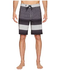 Vans Era Stretch Boardshorts 20 Black Vertex Stripe Men's Swimwear Multi