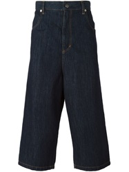 Societe Anonyme Cropped Trousers Blue