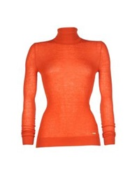 Just Cavalli Turtlenecks Rust