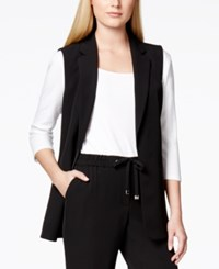Calvin Klein Notched Collar Vest