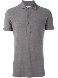 Orlebar Brown Plain Polo Shirt Grey