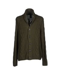 People Cardigans Military Green