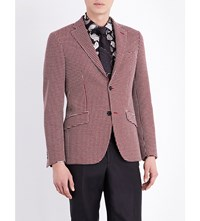 Etro Minosse Cotton Jacket Red
