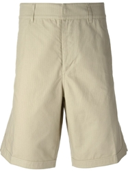 Golden Goose Deluxe Brand Wide Leg Fit Shorts Nude And Neutrals