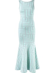 Cecilia Prado Knit Maxi Dress Green