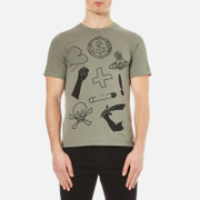 Vivienne Westwood Anglomania Men's Classic T Shirt Military Green