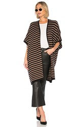 Lovers Friends Ventura Poncho Black